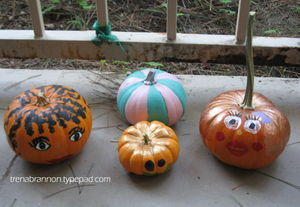 Painted Pumpkins_TLB
