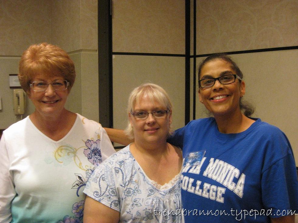 Karen, Vicky, Trena