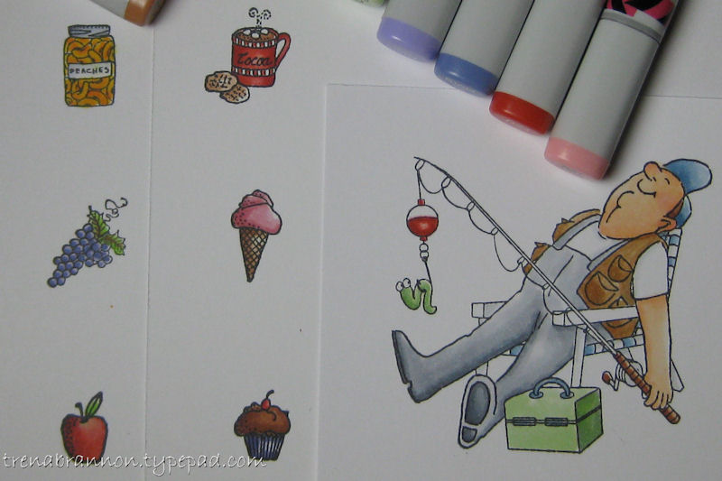 Copic-small and large areas