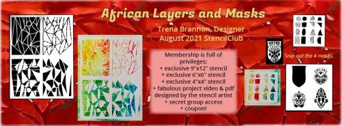 African trena brannon fb cover club template
